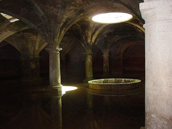 Cisterna v Al Džadídě