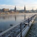Inverness – hlavní město skotské Vysočiny