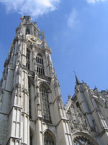 Kostel v Antverpách
