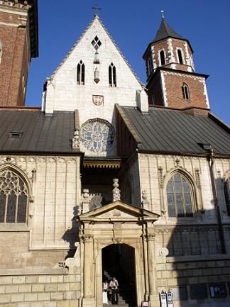 Královský zámek Wawel v Krakowě