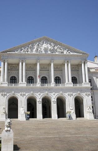 Budova parlamentu - Lisabon