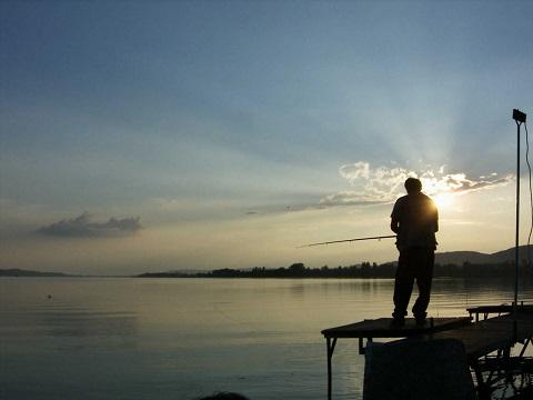 Balaton je super i na rybaření