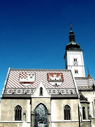 Náměstí sv. Marka v Záhřebu