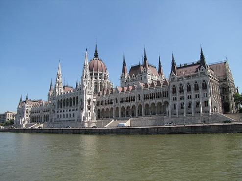 Budova parlamentu v Budapešti