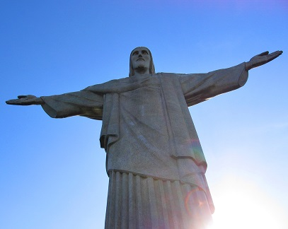 Socha Ježíše je známou turistickou atrakcí Ria