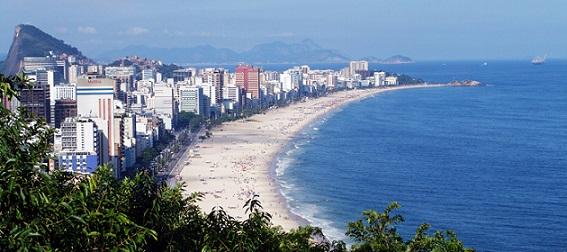 Rio de Janeiro nabízí až 80km fantastických pláží