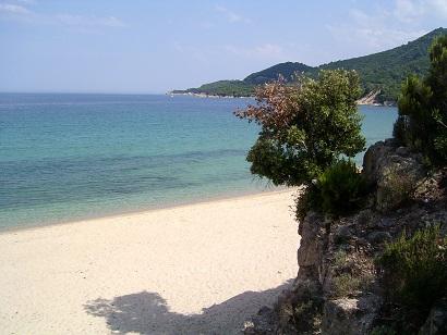 Chalkidiki nabízí i krásné pláže