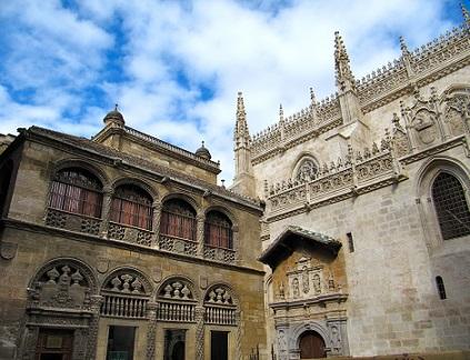Krásná katedrála v Granadě