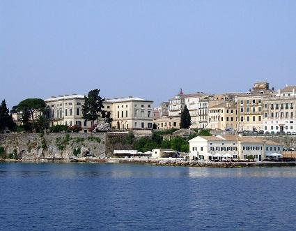 Hlavní město ostrova Korfu - Kerkyra