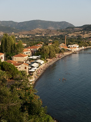 Krásná scenérie na ostrově Lesbos