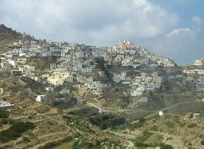Městečko Olympos na ostrově Karpathos