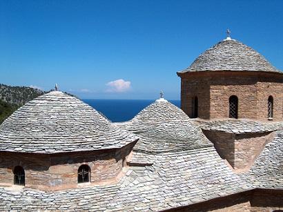 Klášter Evangelistria na ostrově Skiathos