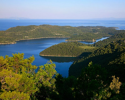 Zelený ostrov Mljet