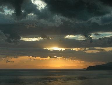 Na ostrově Elba jsou překrásné západy slunce..