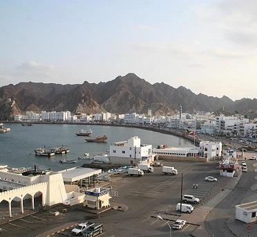 Ománské hlavní město Maskat je známé výrobou kadidla...