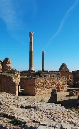 Tunisko je země bohatá historií a zachovalými starověkými památkami.