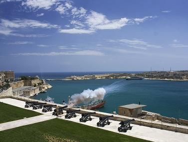 Pevnost Valleta na Maltě...
