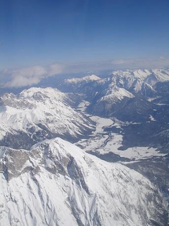 Hory v okolí Innsbrucku..