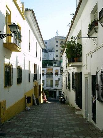 Typická ulice v Andalusii...