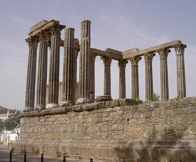Évora - Dianin chrám