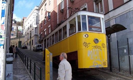 Tramvaj číslo 28 v Lisabonu - Zdroj / Charles codopi